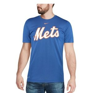 New York Mets Nike Logo Performance Shirt